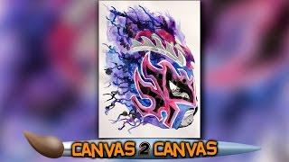 Kalisto auf der Leinwand: WWE Canvas 2 Canvas