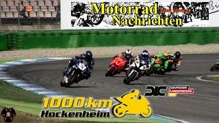 1000 km Hockenheim 2016 - Deutscher Langstrecken Cup - Motorradrennen am Ostersamstag