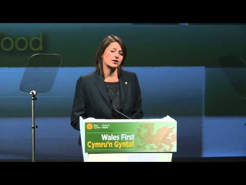 Araith Leanne Wood / Leanne Wood's Speech - Aberystwyth 2013