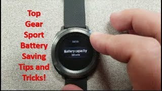 Samsung Gear Sport Top Battery Saving Tips and Tricks Revealed! - Jibber Jab Reviews!