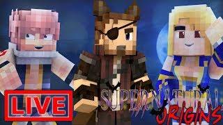 Minecraft Supernatural Origins #6.5 (Live Modded Survival)