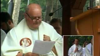 2014-08-07 Olesno - Kazanie ks. Orzecha podczas Mszy Świętej