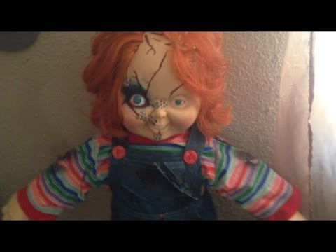 Spencer Gifts Chucky Doll Review Youtube