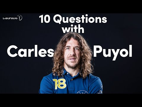 10 Questions with Carles Puyol