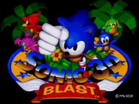 Let's Listen Sonic 3D Blast (Sega Saturn ver.) Special Stage