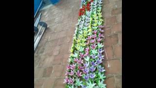 Madurai Decorators New Model Artificial Running Flowers