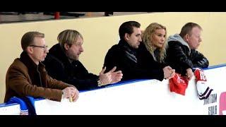 Трусова с Валиевой выходят на лед арены Мегаспорт и бьют рекорды по рейтингу российского футбола