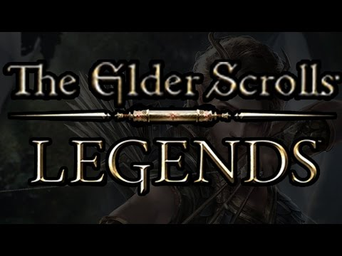"Let's Try ""The Elder Scrolls: Legends"" CCG (Collectible Card Game)"