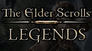 """Let's Try """"The Elder Scrolls: Legends"""" CCG (Collectible Card Game)"""