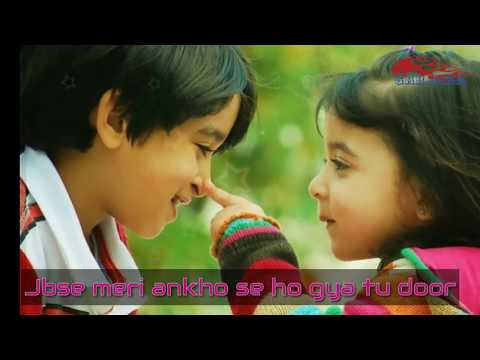 Brother and Sister cute love whatsapp status video_Lyrics_Garjanaa_hd_ [ Hindi]