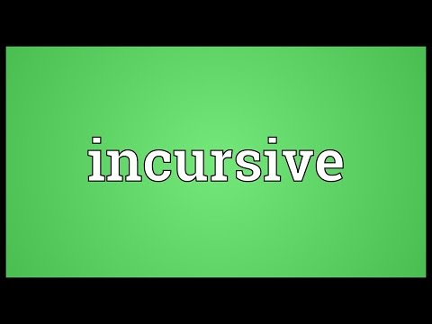 Header of incursive