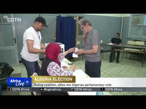 Ruling coalition, allies win Algerian parliamentary vote