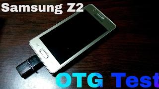 Samsung Z2 OTG Test Shocking Results