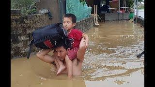Sơ tán khẩn cấp hơn 6.000 dân ra khỏi vùng ngập lụt