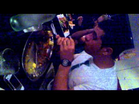Steak Eating Outback Jacks Challenge 4 Minutes Youtube