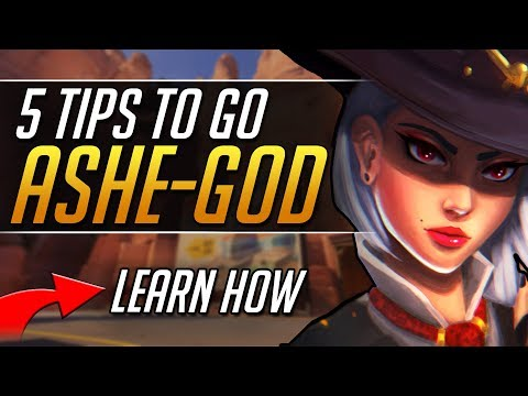 5 ASHE TIPS to CRUSH Ranked Overwatch - Pro Gameplay Overwatch Guide