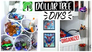 DOLLAR TREE DIY ORGANIZERS and DECOR! Sensational Finds