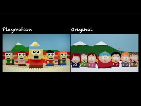 Lego South Park: Kyle's Mom Comparison