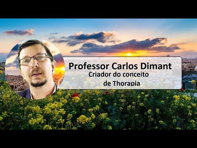 Professor Carlos Dimant, criador da Thorapia