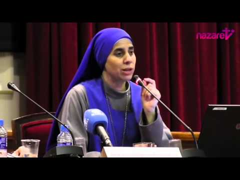 Truth of War in Syria & Courage of Christians - Sr Guadalupe in Barcelona