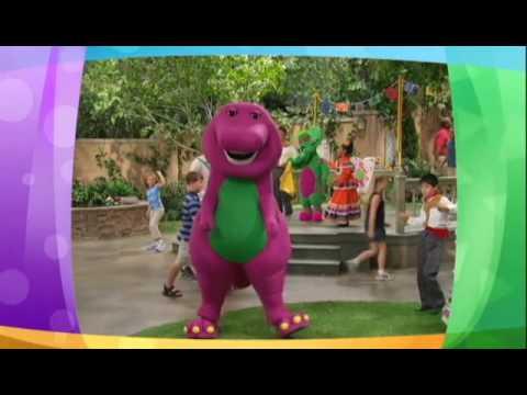 Barney dancing with Usher - Yeah! ft. Lil Jon, Ludacris