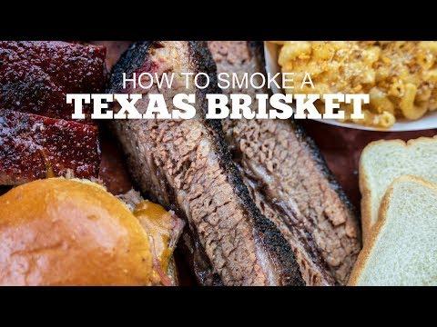 How to Smoke a Texas Style Brisket