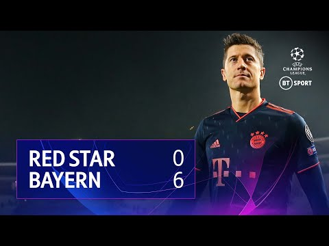 Red Star Belgrade vs Bayern Munich (0-6) | UEFA Champions League Highlights
