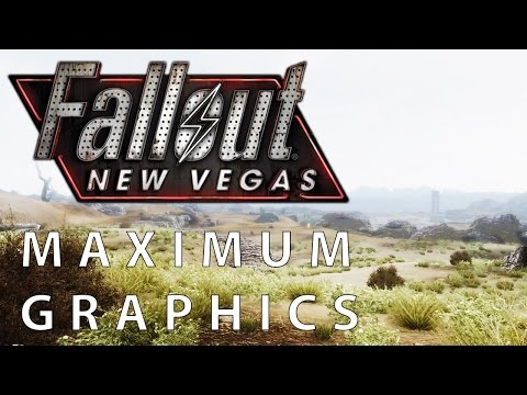 Fallout: New Vegas – Maximum Graphics Mod Overhaul vs. Vanilla Graphics Comparison [FullHD|1080p]