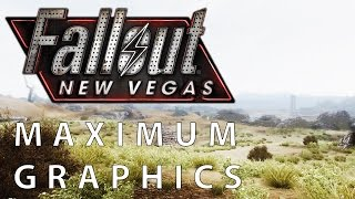 Fallout New Vegas Maximum Graphics Mod Overhaul vs. Vanilla Graphics Comparison FullHD 1080p