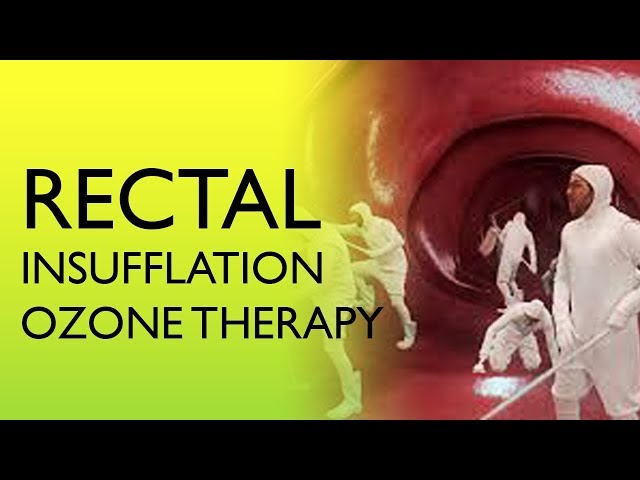 How Does Rectal Insufflation Ozone Therapy Affect the Body and Microbiome?