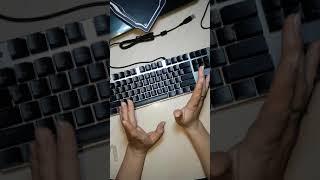 Клавиатура zero оргазм для глаз