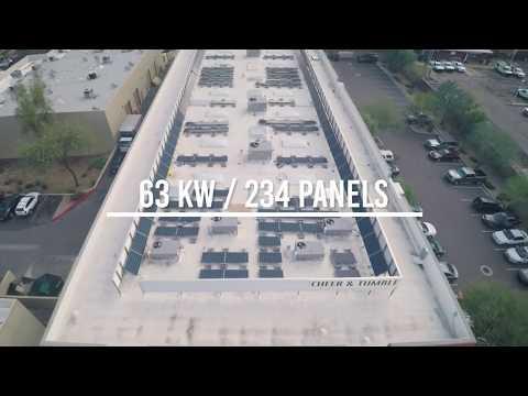 Commercial Solar Installation (63 KW) - Desert Storm Elite By NERD Power