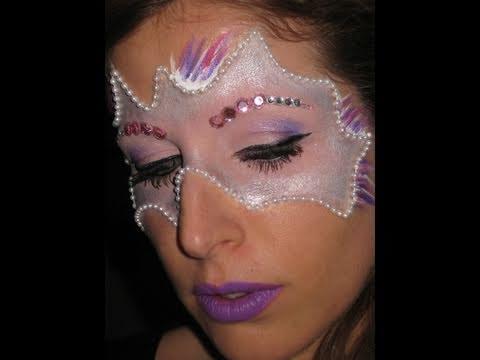 Makeup Tutorial trucco Maschera CARNEVALE 2011 - YouTube