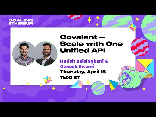 Covalent 🛠 Scale with One Unified API