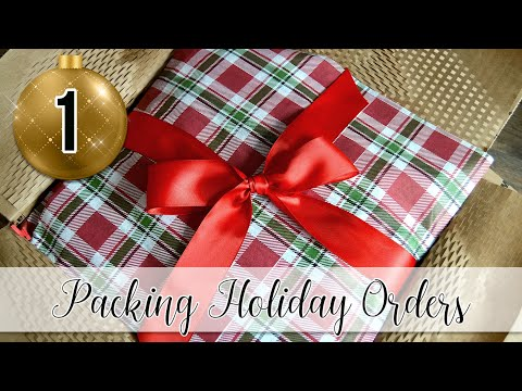 Packing Holiday Orders Part One | MO River Soap
