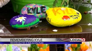Visitation held for 16-year-old Kyle Plush
