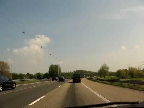 A1 motorway, Muiden, NL
