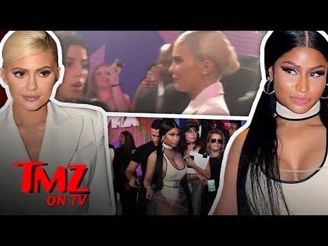 Kylie Jenner Avoids Face-To-Face Showdown With Nicki Minaj! | TMZ TV