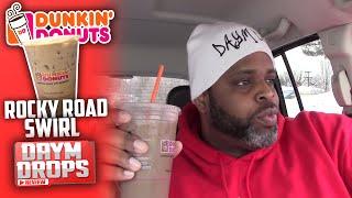 Dunkin Donuts Rocky Road Swirl