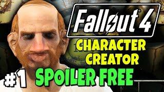 "Fallout 4 - Character Creator - Robert The Ginger #1 ""No Vault 111 Spoilers!"""