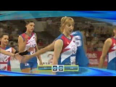 2017 Jiangsu volleyball vs Serbia volleyball 2017 江苏女排 vs 塞尔维亚女排