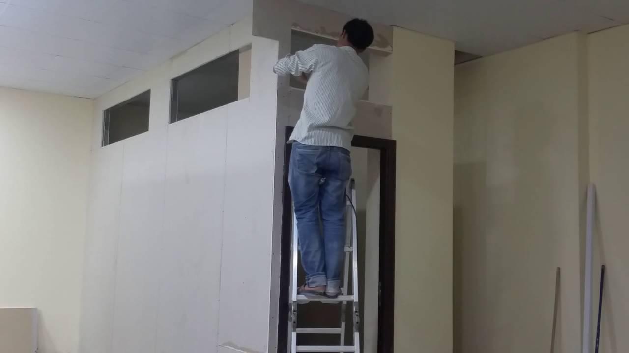 Gypsum Board Partition In Dubai