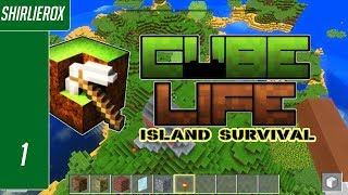 Cube life island survival gameplay (PC)  - Minecraft beater?