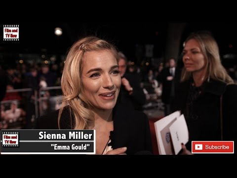 Sienna Miller describes Ben Affleck as lovely human being at the Live By Night European Premiere
