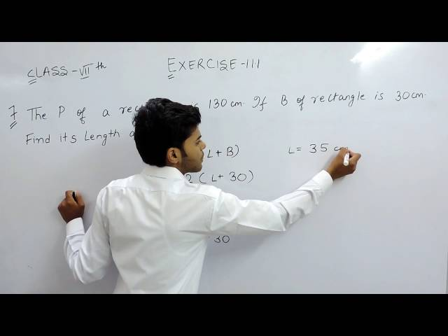 Exercise 11.1 - Question 7 NCERT Solutions for Class 7th Maths Perimeter and Area