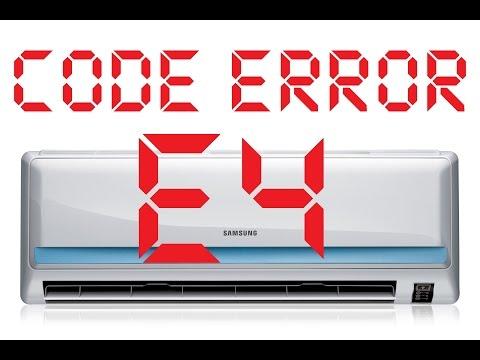 CODIGOS de ERROR - Aire Acondicionado Split