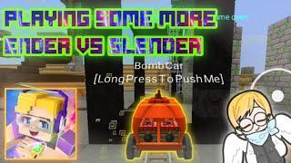 Playing Some More Ender Vs Slender [BlockmanGo 1.11.36]
