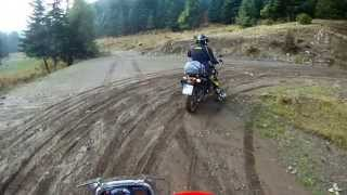 Bmw F800 GS   deep forest   Greek mountains   travel enduro 2013