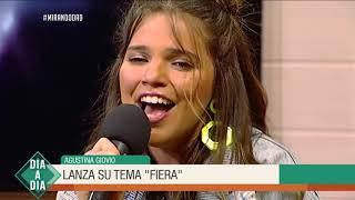 Agustina Giovio lanza su tema Fiera