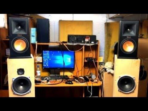 "Фирма против акустики ""из говна и палок"" или Klipsch RP-160M VS 10ГДШ  ВЧ Daytonaudio"